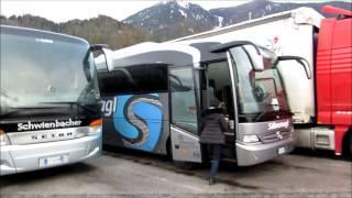 В Европу самостоятельно: На автобусе до Мюнхена. зима 2015 года. день девятый.  ч. 1