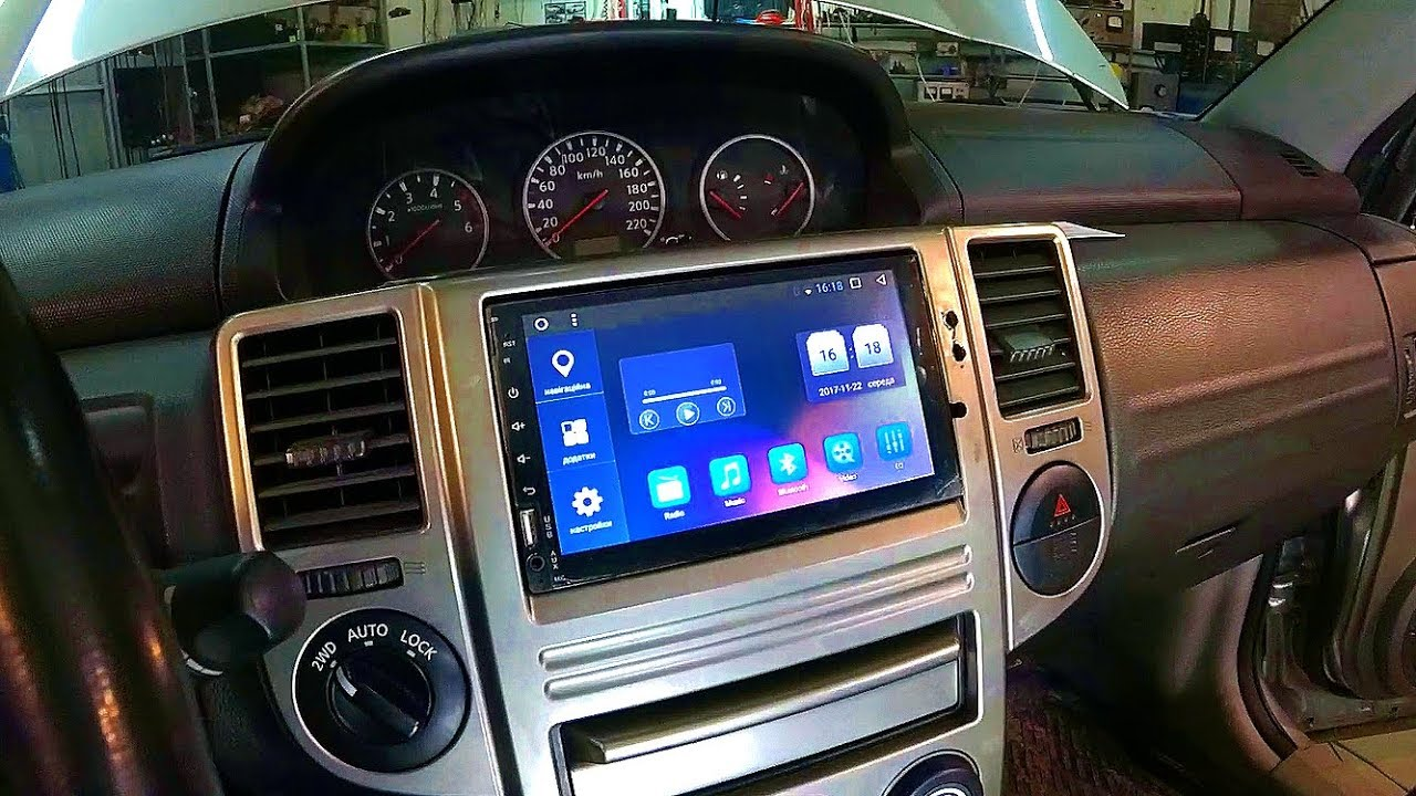 Nissan Trail 2 Din Android 6