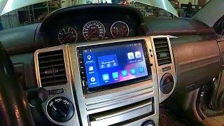 Nissan Х-Trail. Установка 2 DIN магнитолы на на Android 6.0