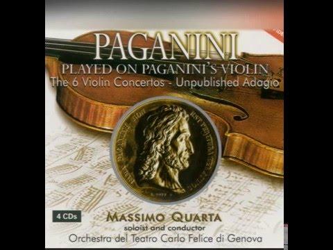 Niccolo Paganini - Violin Concerto No. 4 in D Minor: II. Adagio flebile con sentimento