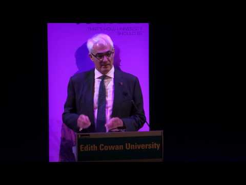 Lessons From The Financial Crisis: The Rt Hon Alistair Darling, ECU Oration