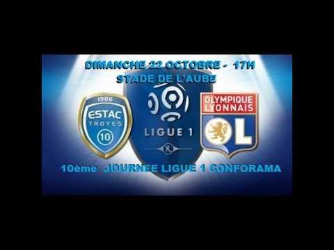 10° journée de Ligue 1 Conforama : Troyes - OL