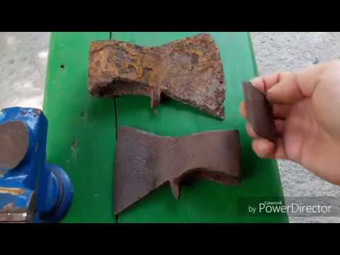 Как отремонтировать топор? Ремонт копанных топоров.