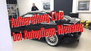 Philipp Kaess von Hannover Hardcore Live bei Autopflege-Mensing in Wunstorf