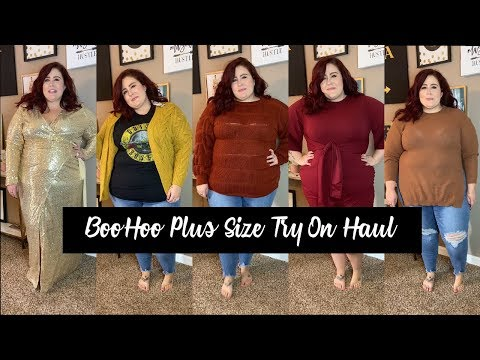 Fall Plus Size Fashion Try On Haul - Boohoo | Curves, Curls and Clothes