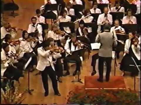 Chin Kim Glazunov Violin Concerto 3 Grand Teton Music Festival Orchestra Ling Tung conducting