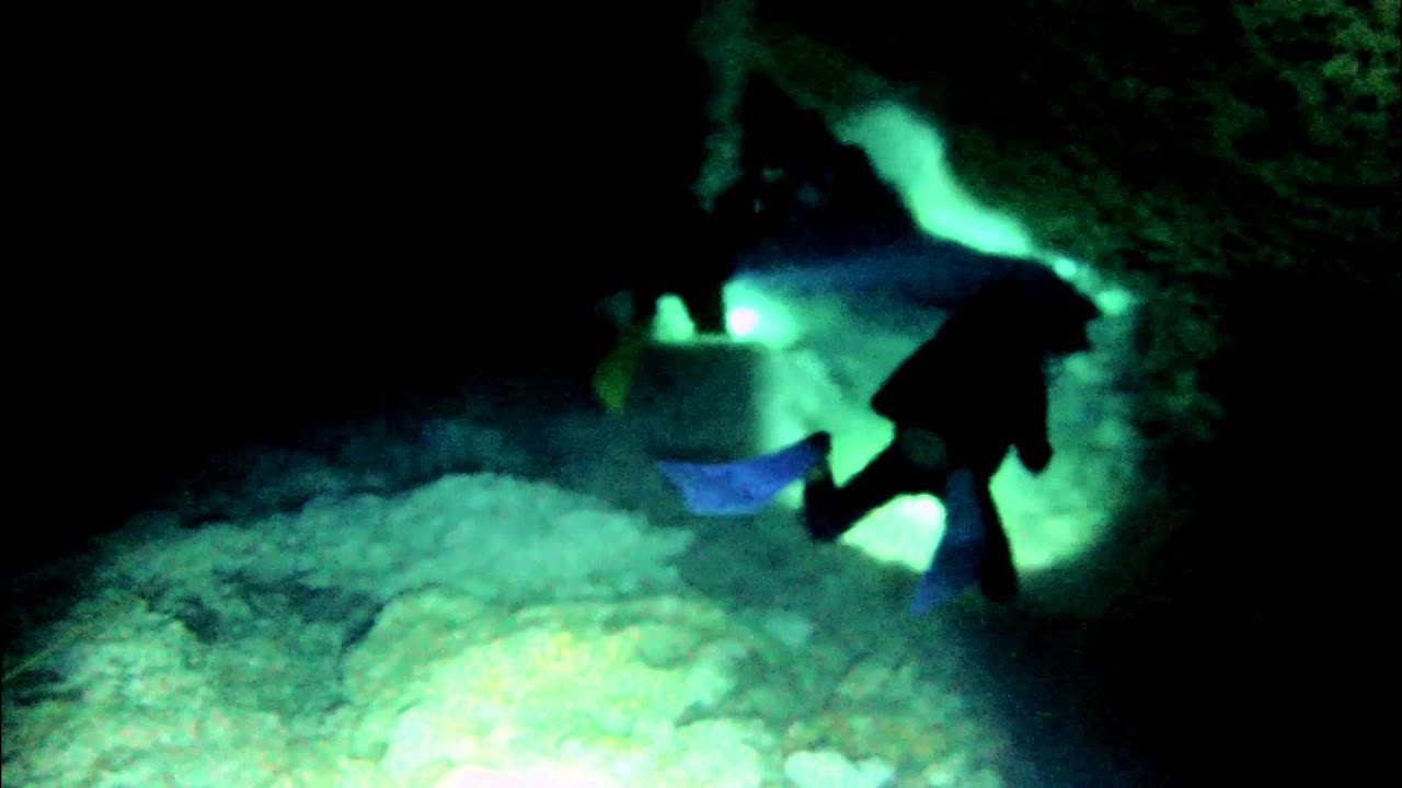 Cave Diving In Taj Mahal Cenote Akumal Mexico