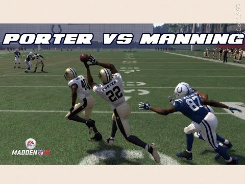 CAN I RECREATE THE TRACY PORTER PICK 6 IN THE SUPERBOWL? Madden 16 Challenge