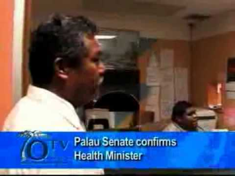Palau Senate Confirms Health Minister