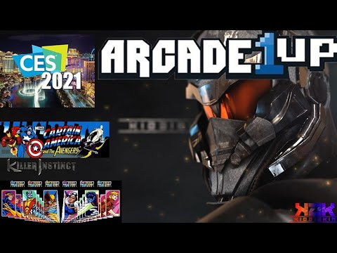 ARCADE1UP CES 2021 NEW CABINETS AND GAMEPLAY from Kio ÐÎÊKÎÑ