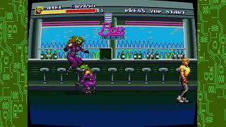 Sega genesis classics streets of rage 3 axel n the enemy club bosses gameplay