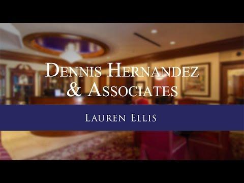 Lauren Ellis Testimonial | Personal Injury Lawyer Tampa FL | Dennis Hernandez & Associates, P.A.