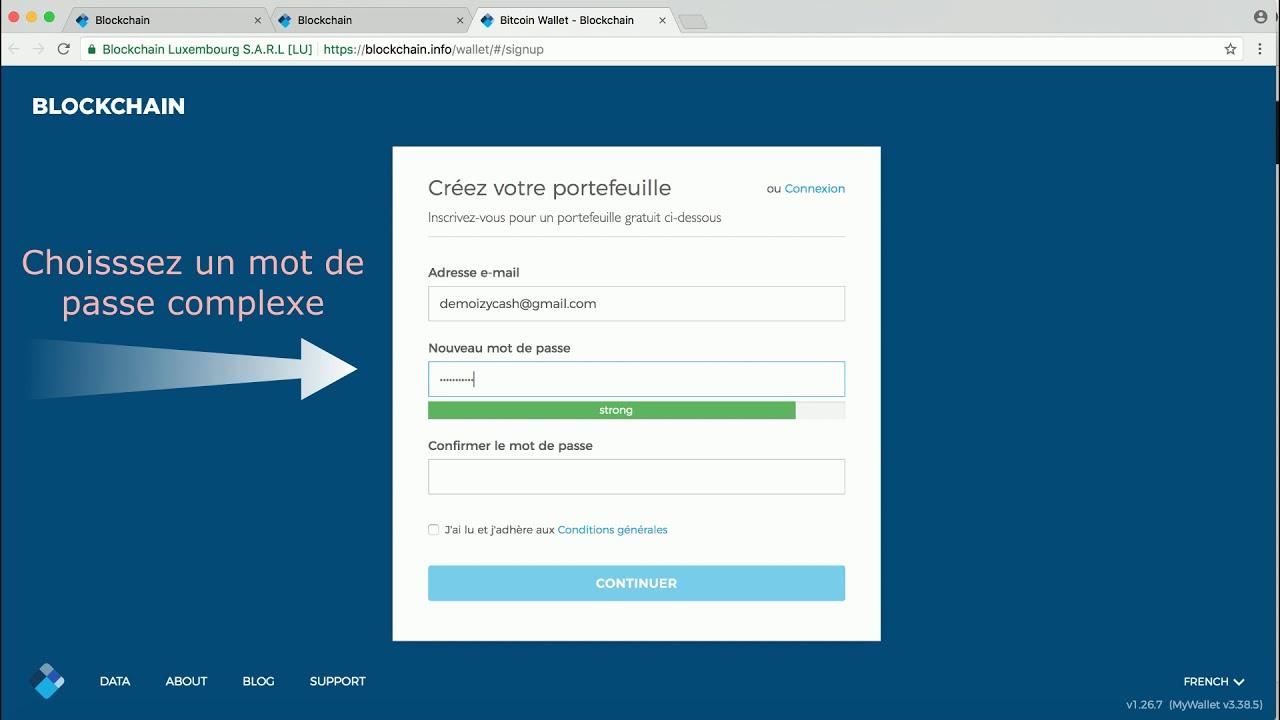 https blockchain info wallet signup