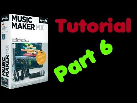 MusicMaker MX Tutorial #6: mit Music Maker etwas aufnehmen