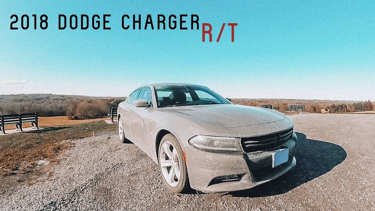 2018 Dodge Charger R T Hemi V8 0 60 Road Test Review Youtube