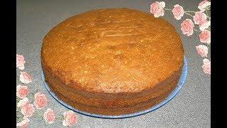 Ореховый пирог .