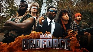 Team BroForce Live Action Fan Film