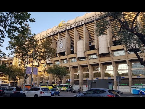 STADIUM VISIT: The Santiago Bernabéu Stadium: the Home of Real Madrid Football Club