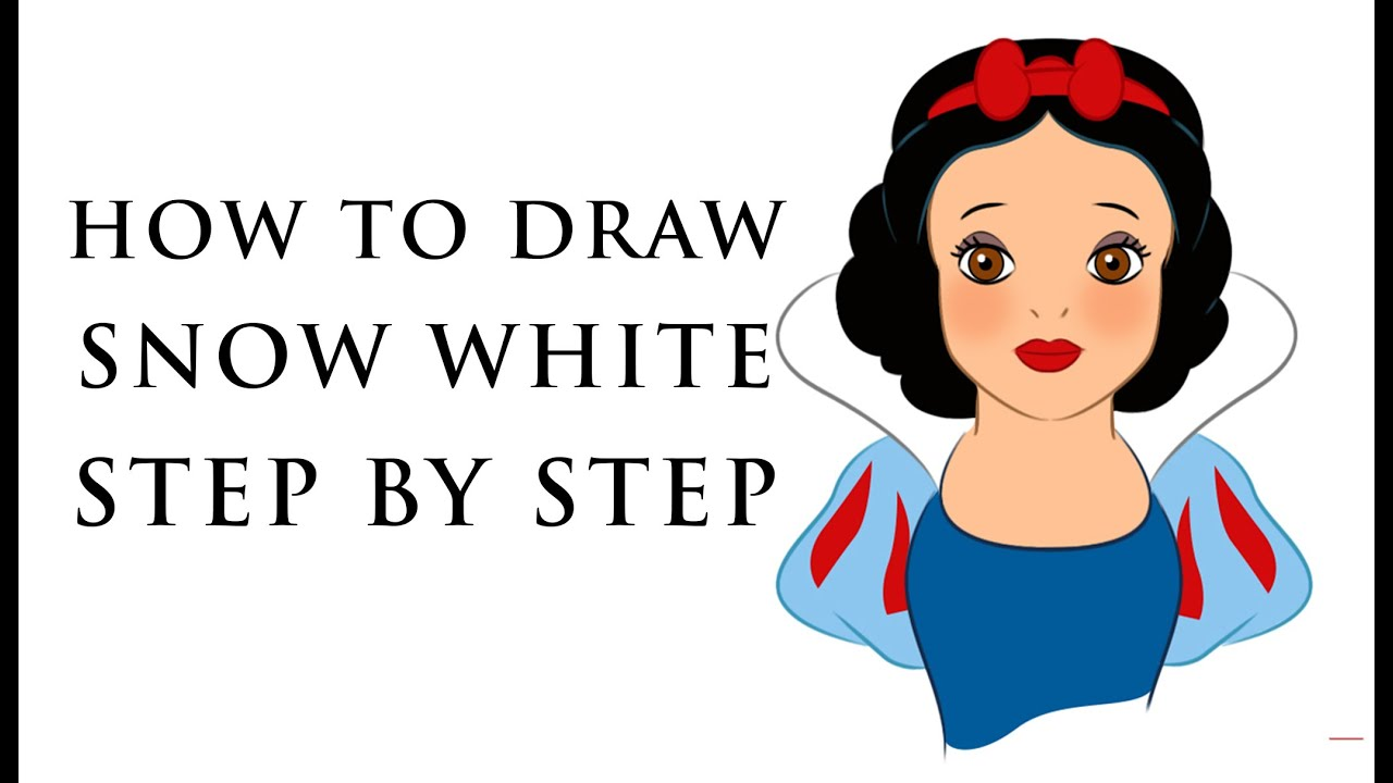 HOW TO DRAW DISNEY PRINCESS CHARACTERS FOR BEGINNERS ...