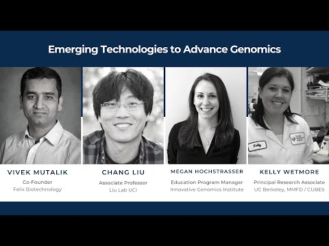 OC LIFe (Lifesciences Innovators Forum) - Emerging Technologies to Advance Genomics from YouTube · Duration:  1 hour 17 minutes 12 seconds