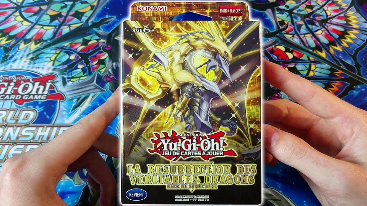 Yu-Gi-Oh! Decks de Structure La R/ésurrection Des V/éritables Dragons Jeux de Cartes