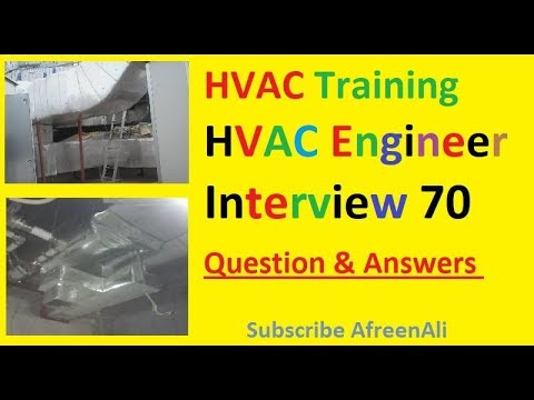 HVAC online Training - HVAC Mechanical Engineer Interview 70 ...