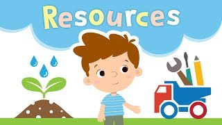Human, Capital & Natural Resources for Kids | Types of Resources | Kids Academy