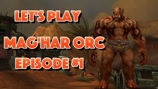Lets Play Mag'har Orc Episode #1