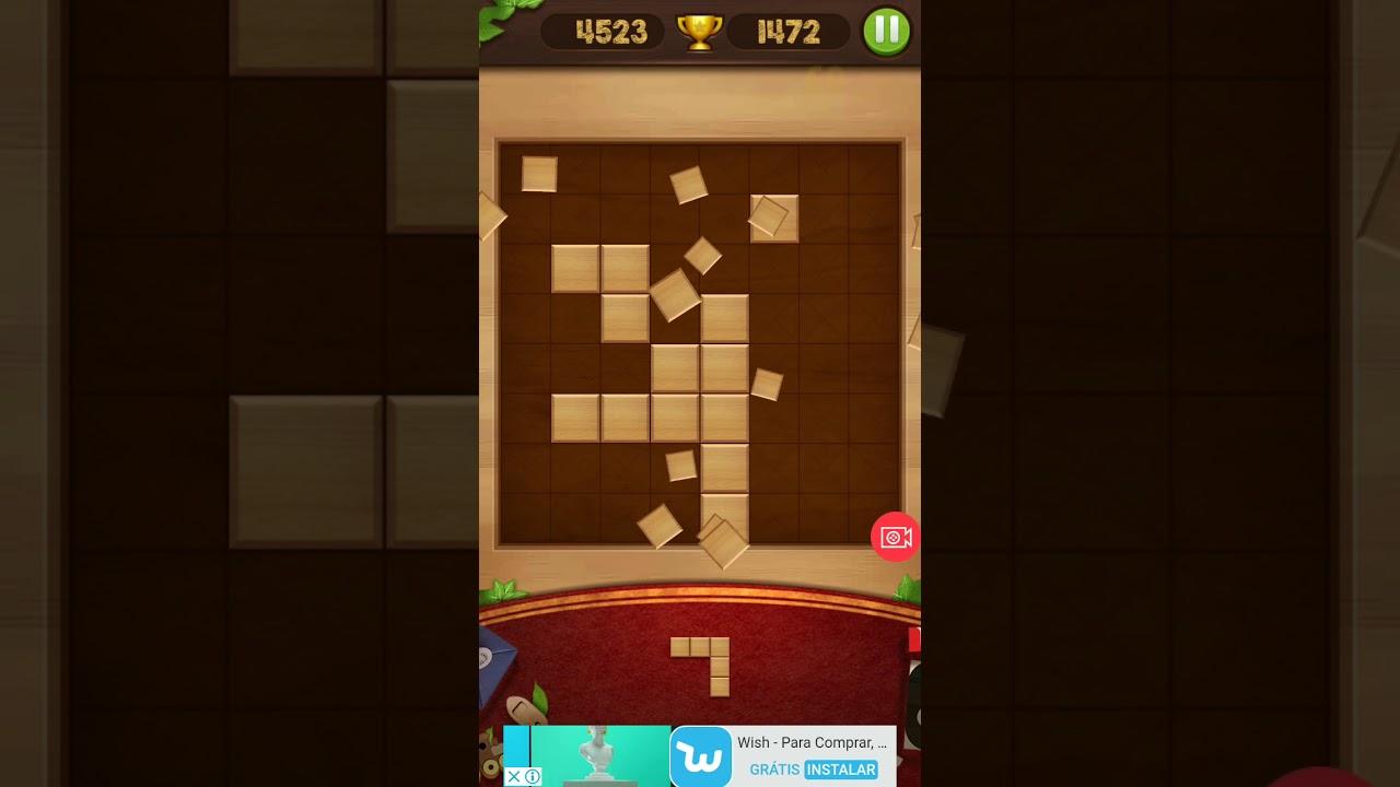 Wood Block Puzzle Score 4005 World Record