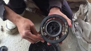 Réparer un lanceur de tout moteur thermique