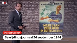 Mannen in Nederland duiken massaal onder   Market Garden Journaal   24 september 1944