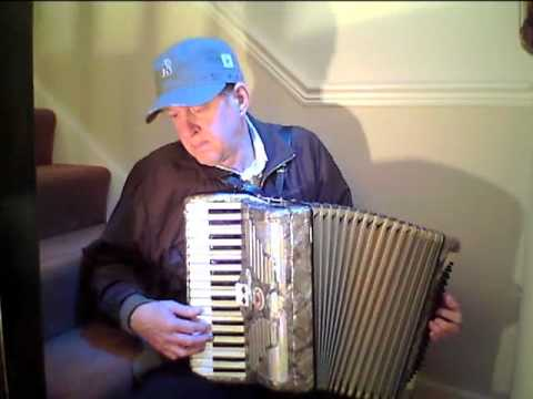 Yesterday, Beatles song on accordion