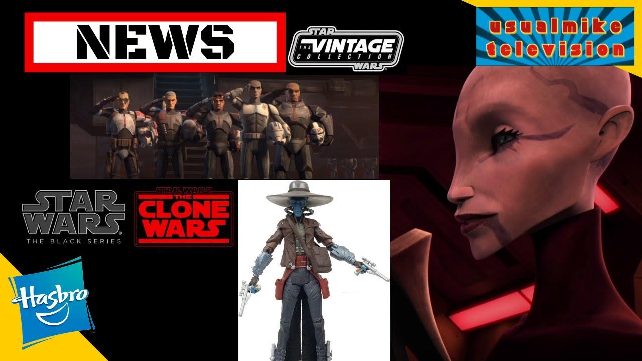 STAR WARS ACTION FIGURE NEWS CAD BANE CONVENTION EXC, VINTAGE COLLECTION & ASAJJ VENTRUSS LIGHTSABER
