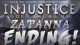 Injustice: Gods Among Us | Zatanna Ending + Doctor Fate Cameo (EASTER EGG!)