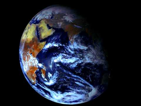 A Timelapse of Planet Earth, October 2011 to March 2012