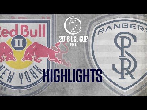 HIGHLIGHTS:  USL Cup Final - New York Red Bulls II vs Swope Park Rangers 10-23-16