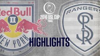 HIGHLIGHTS:  USL Cup Final - New York Red Bulls II vs Swope Park Rangers 10-23-16 thumbnail