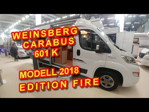 WEINSBERG CARABUS 601 K EDITION FIRE, MODELL 2018, KASTENWAG