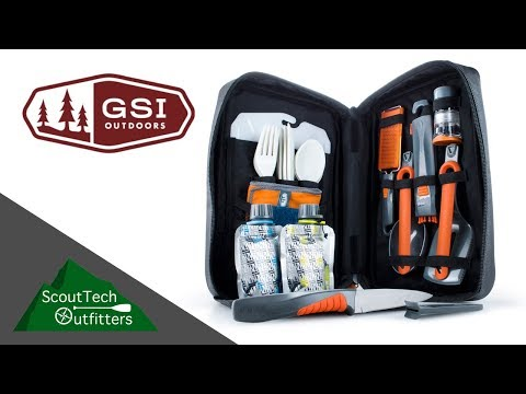 GSI Outdoor 11 Piece Gourmet Backpacking Kitchen Set Review
