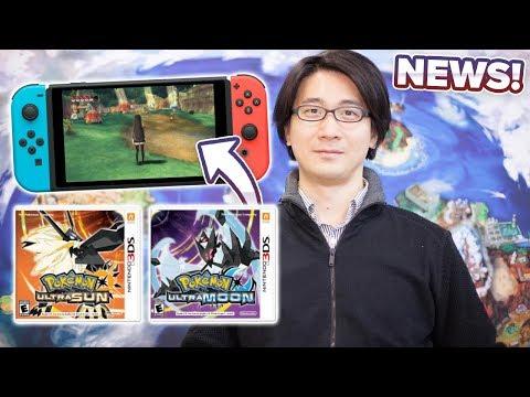 MAJOR NEWS! Last 3DS Pokemon Games! POKEMON SWITCH COMING SOON! - Pokémon Ultra Sun and Ultra Moon