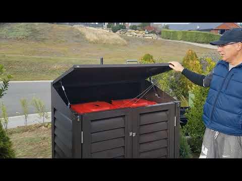 Wheelie Bin Storage Shed from Hideawayz