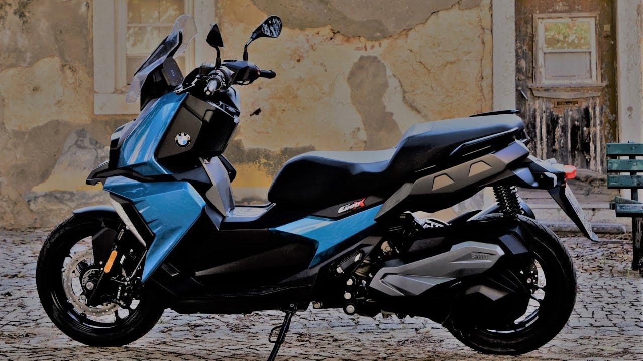 Bmw Scooter C 400 X 2018 Review Youtube