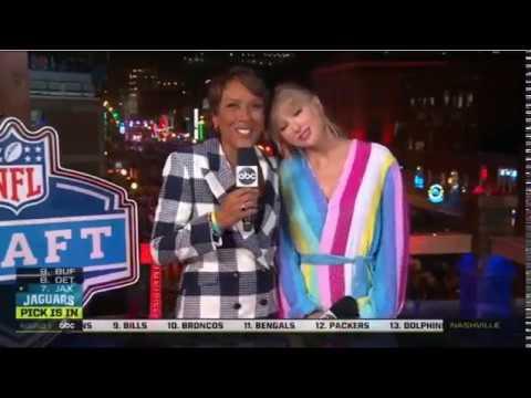 Taylor Swift N F L Draft