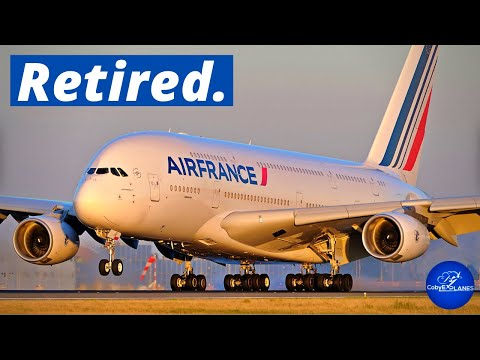 Why Is Air France The First Airline To Retire Its A380s?