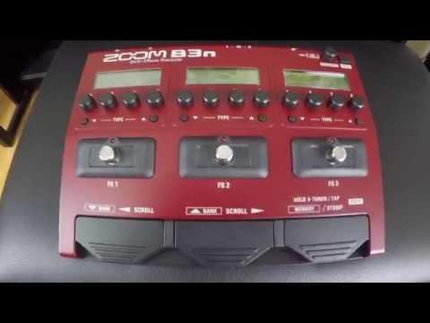 Yeni bas gitar prosesörüm Zoom B3n ve hobi odam / MyDukkan Alışverişi