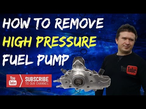 Mercedes Sprinter Series: High Pressure Fuel Pump Removal on 2.7L Diesel! How To: Part 10