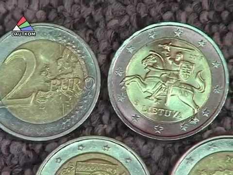 Литва встретила Новый год введением евро