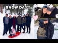 SNOW DAY WITH THE FAM! | VLOG | Nikki Valenzuela