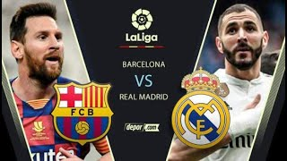 En Vivo / Barcelona vs Real Madrid / Fecha 6 / La Liga /