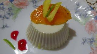 Панна Котта на греческом йогурте. Супер вкусный десерт.